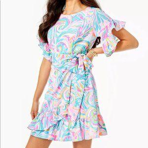 Lilly Pulitzer Darlah Stretch Dress 8